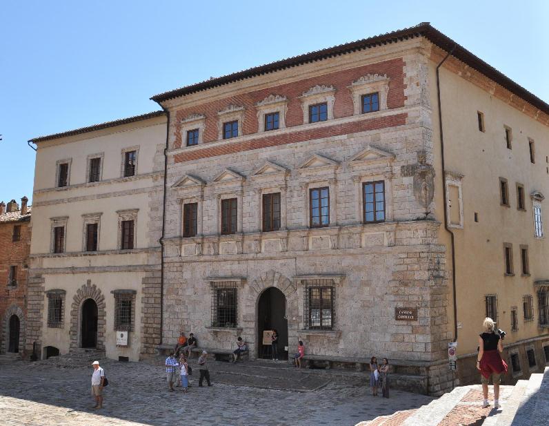 Montepulciano arte e storia di toscana for Palazzi di una storia